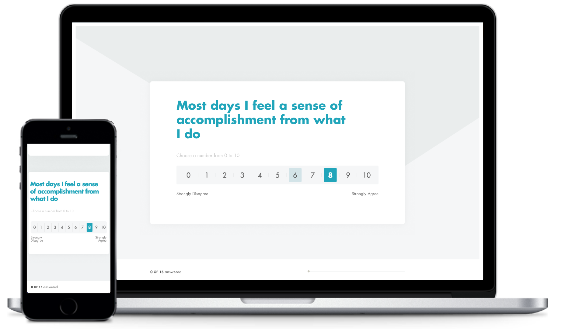 Getting started with Evi is easy and the survey takes only five minutes to complete.